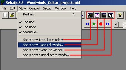 Sekaiju tutorial: User interface | Flag user